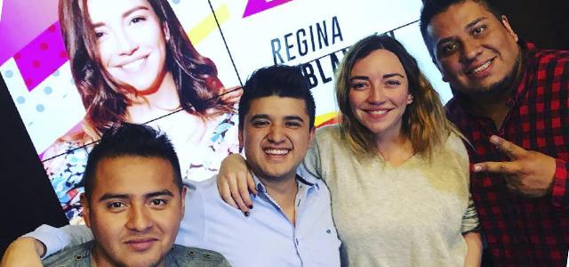 Regina Blandón en Los Hijos de la Mañana